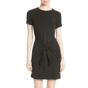 Theory tie-front t-shirt dress